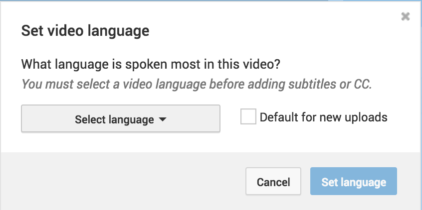 Language - How to create subtitles for videos on Facebook